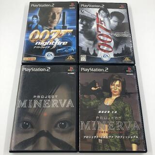 プレイステーション2(PlayStation2)のPS2 007 プロジェクトミネルヴァ セット(家庭用ゲームソフト)