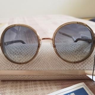 JIMMY CHOO - SALE 正規良品 ジミーチュウ 丸型 ミラーサングラス