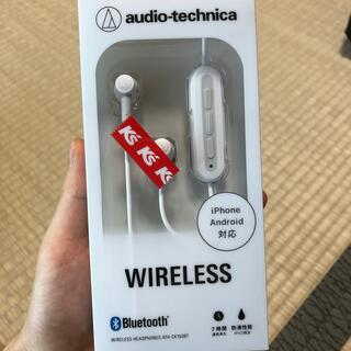 audio-technica - ワイヤレスイヤホン
