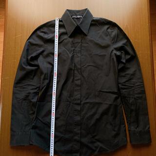 DOLCE&GABBANA - ドルチェ&ガッバーナ 比翼仕立てドレスシャツ サイズ42 ユニセックス ドルガバ