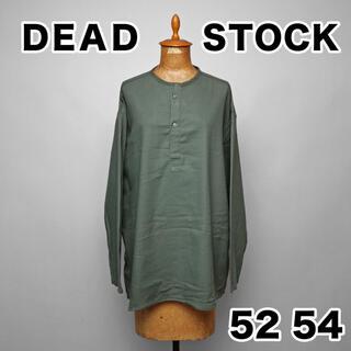 コモリ(COMOLI)のデットストック ロシア軍 スリーピング シャツ 52 54 カーキ グレー ソ連(Tシャツ/カットソー(七分/長袖))
