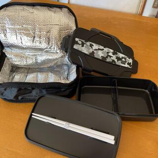 LOGOS - LOGOS 日本製 保冷バックと箸付き 4点ロックお弁当箱