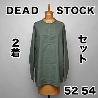コモリ(COMOLI)のデットストック ロシア軍 スリーピングシャツ ②セット 52 54 カーキグレー(Tシャツ/カットソー(七分/長袖))