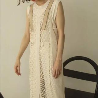 TODAYFUL - todayful mesh knit dress