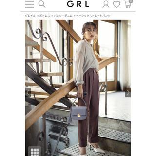 GRL - GRLグレイル ストレートパンツ モカ Mサイズ ac1650