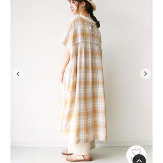 サマンサモスモス(SM2)の新品♡後ろ編み上げワンピ(ロングワンピース/マキシワンピース)