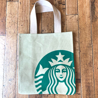 Starbucks Coffee - ‼️大好評につき、数量限定再販‼️スターバックストートバッグ 中 モカ色
