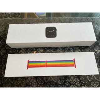 アップルウォッチ(Apple Watch)のApple Watch Series 5 44mm セルラーモデル(スマートフォン本体)
