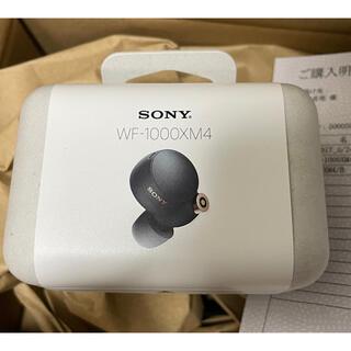 SONY - sony WF-1000XM4 ブラック 新品未開封 保証書付き