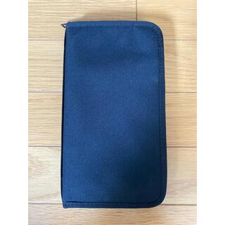 ムジルシリョウヒン(MUJI (無印良品))の無印 パスポートケース ケース 黒 ブラック black(その他)