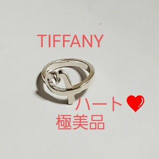 Tiffany & Co. - TIFFANY 美品 ラビングハート リング 指輪 ハート  ティファニー