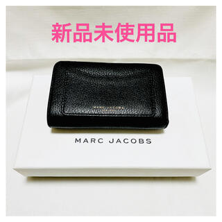 マークジェイコブス(MARC JACOBS)の新品同様❤︎マークジェイコブス❤︎折り財布❤︎黒(財布)