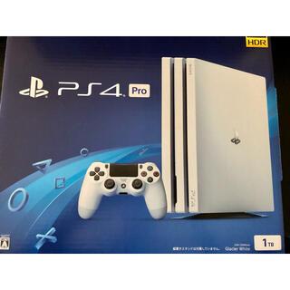 PlayStation4 - PlayStation 4 Pro 1TB グレイシャーホワイト