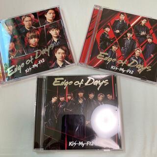 Kis-My-Ft2 - キスマイ Edge of days CD.DVD 3枚セット