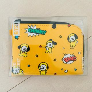 防弾少年団(BTS) - bt21 BTS chimmy チミー 財布 パスケース カードポケット