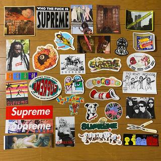 Supreme - Supreme ステッカー 33枚 新品 送料無料 Sticker Set