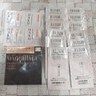 MAQuillAGE - マキアージュ ドラマティックムードヴェール(シルキー)レフィル & エリクシール