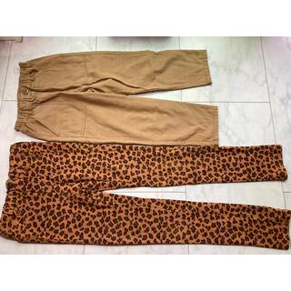 エフオーキッズ(F.O.KIDS)の子供服 サイズ130  140 クロップド 長ズボン セット(パンツ/スパッツ)