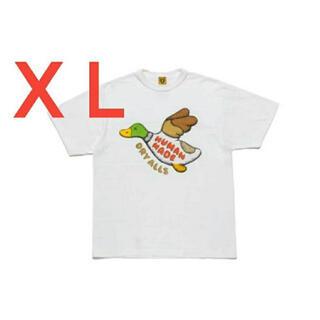 Supreme - ヒューマンメイド HUMAN MADE カウズ KAWS Tシャツ 白 XL