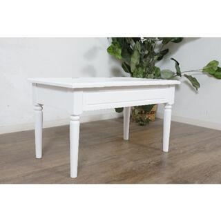 アウトレット コスメテーブル 収納 ミラー付き ドレッサー(ローテーブル)