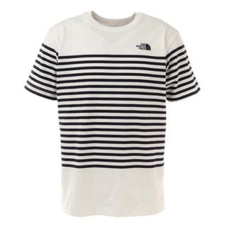 THE NORTH FACE - THE NORTH FACE 半袖Tシャツ ボーダーTシャツ NT32137
