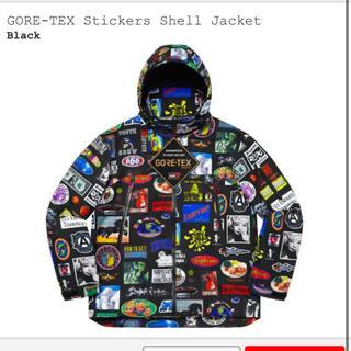 Supreme - supreme GORE-TEX Stickers Shell Jacket L