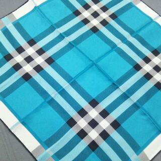 バーバリー(BURBERRY)のバーバリー スカーフ美品  チェック柄(バンダナ/スカーフ)