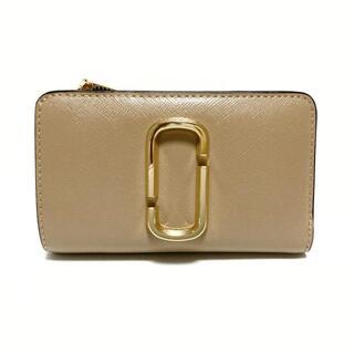 マークジェイコブス(MARC JACOBS)のマークジェイコブス 2つ折り財布美品  -(財布)