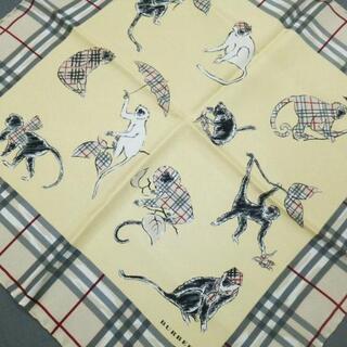 バーバリー(BURBERRY)のバーバリーロンドン スカーフ美品 (バンダナ/スカーフ)