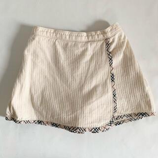 バーバリー(BURBERRY)のBurberry バーバリー 70cm ノバチェック柄キュロットスカート(スカート)