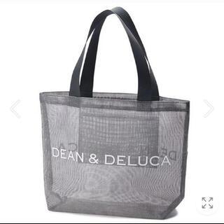 DEAN & DELUCA - ディーンアンドデルーカ メッシュバッグ トートバッグ 2020 シルバー L