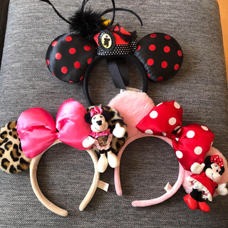 Disney - ディズニー カチューシャ 3点