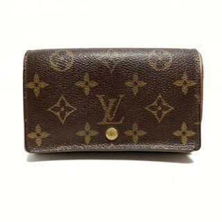 LOUIS VUITTON - ルイヴィトン 2つ折り財布 モノグラム -