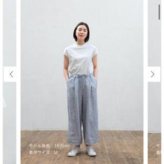MUJI (無印良品) - 無印 フレンチスリーブTシャツ
