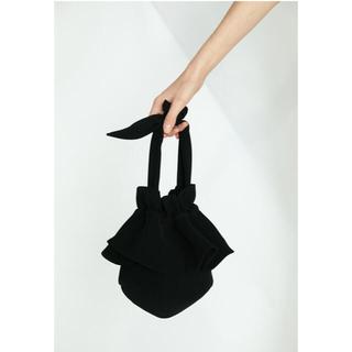 ENFOLD - 新品未使用品 ダブルサテン Drawstring Bag