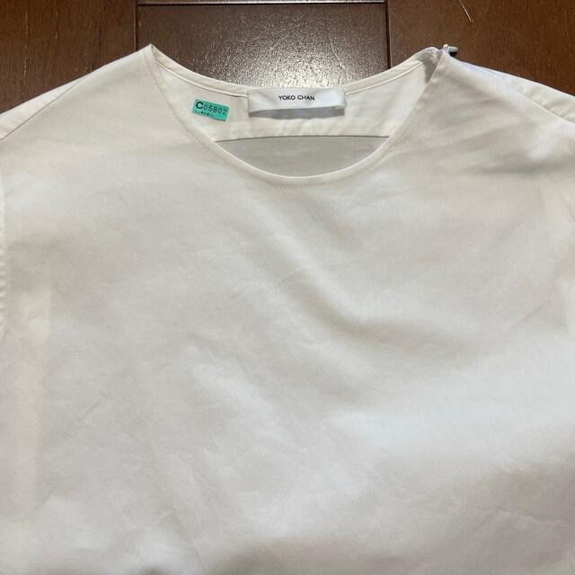 Drawer(ドゥロワー)の【YOKO CHAN】ヨーコチャン ノースリーブシャツ レディースのトップス(シャツ/ブラウス(半袖/袖なし))の商品写真