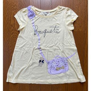 エニィファム(anyFAM)の黄色Tシャツ サイズ140(Tシャツ/カットソー)