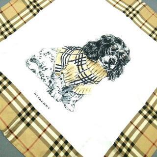 バーバリー(BURBERRY)のバーバリーロンドン スカーフ新品同様  -(バンダナ/スカーフ)