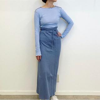 シンゾーン(Shinzone)の【新品未使用】BASErange ベースレンジ スカート(ロングスカート)