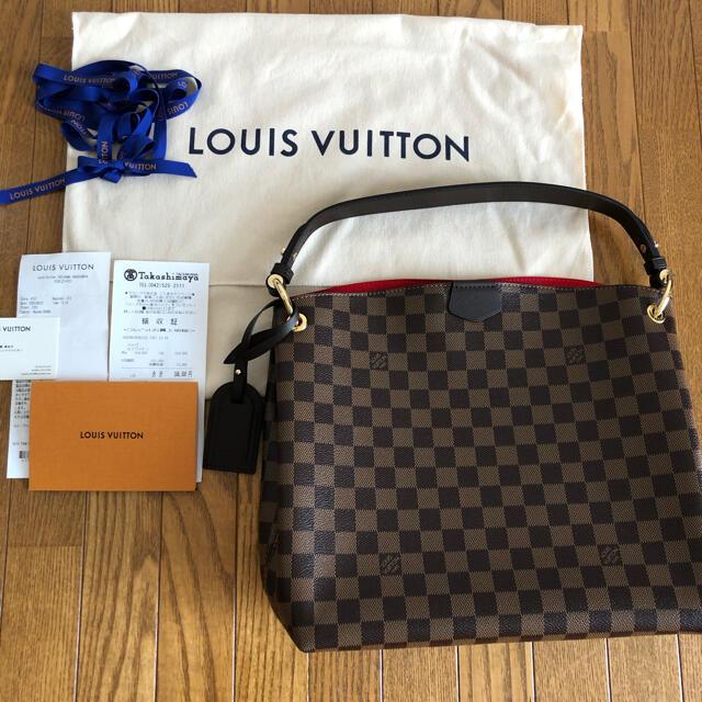 LOUIS VUITTON(ルイヴィトン)のubay0621様 お取り置き ルイヴィトン グレースフル ダミエ PM レディースのバッグ(ショルダーバッグ)の商品写真