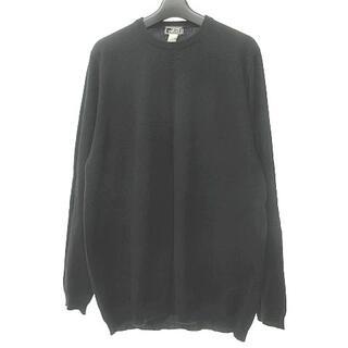 ジャンニヴェルサーチ(Gianni Versace)のジャンニヴェルサーチ ヴェルサーチェ カシミヤ ニット 54 約XL(ニット/セーター)