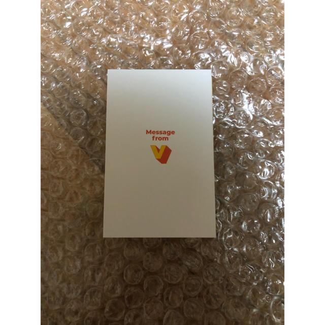 BTS  Butter  ランダムメッセージカード テヒョン エンタメ/ホビーのタレントグッズ(アイドルグッズ)の商品写真