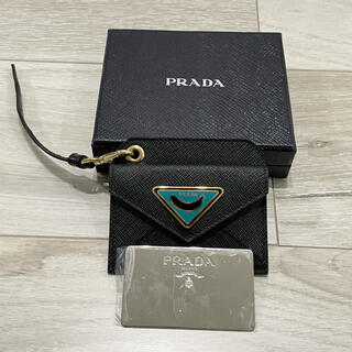 PRADA - プラダ PRADA  名刺入れ コインケース カードケース