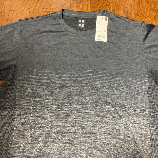 UNIQLO(ユニクロ)の新品ユニクロ:ドライTシャツ(Lサイズ)2枚組 メンズのトップス(Tシャツ/カットソー(半袖/袖なし))の商品写真