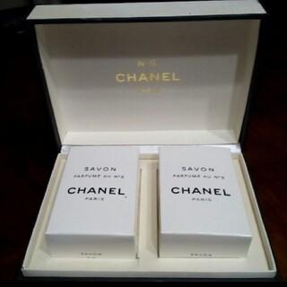 CHANEL - 新品CHANEL N5 石鹸 二個セット