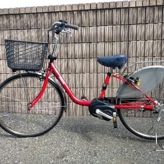 パナソニック(Panasonic)のPanasonic ビビ DX 16ah 栃木県発 美品(自転車本体)