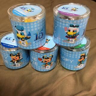 Disney - ディズニー ナノブロック  15周年 セット