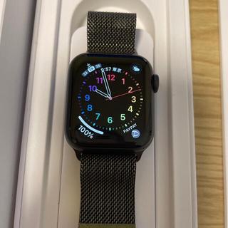 アップルウォッチ(Apple Watch)のApple Watch series6 40mm  アルミニウム スペースグレイ(その他)