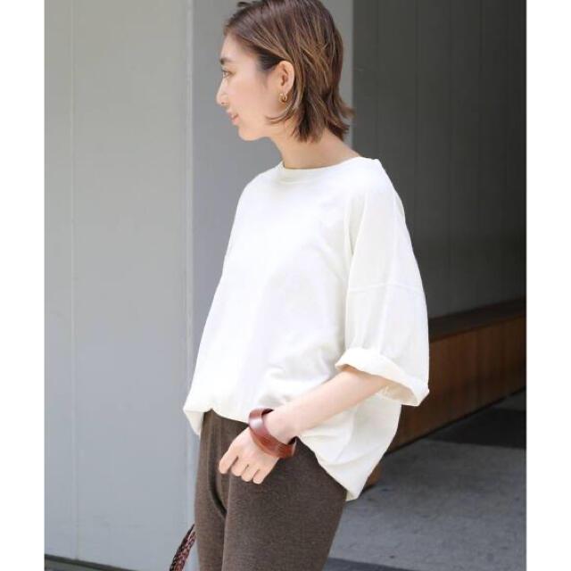 DEUXIEME CLASSE(ドゥーズィエムクラス)の【Deuxieme Classe】 loose T シャツ レディースのトップス(Tシャツ(半袖/袖なし))の商品写真