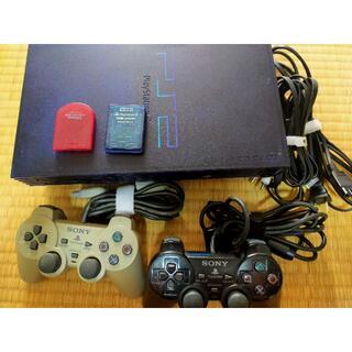 プレイステーション2(PlayStation2)のプレステーション2本体&ソフトセット(家庭用ゲーム機本体)